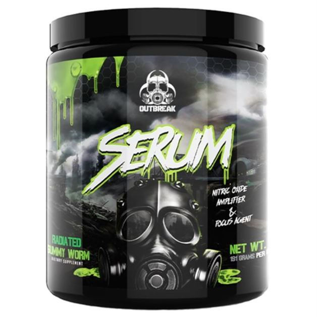 Outbreak Nutrition: Serum V2 Pre-Workout - Radiated Gummy Worm (25 Serve)