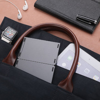 Mini Bluetooth Foldable Wireless Keypad - Grey