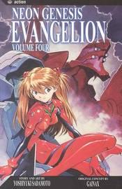 Neon Genesis Evangelion, Vol. 4 by Yoshiyuki Sadamoto