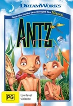Antz on DVD