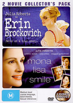 Erin Brockovich / Mona Lisa Smile - 2 Movie Collector's Pack (2 Disc Set) on DVD