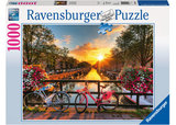 Ravensburger - Bicycles In Amsterdam Puzzle (1000pc)