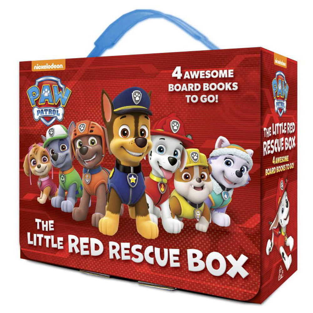The Little Red Rescue Box (Paw Patrol) by Random House image