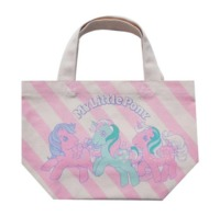 My Little Pony: Retro Stripe - Gusseted Cotton Bag