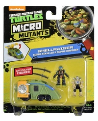 Teenage Mutant Ninja Turtles: Micro Mutant Vehicle - (Leonardo's Shellraiser)