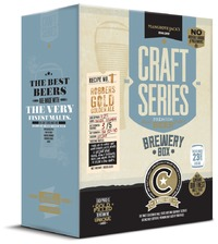 Mangrove Jack's Craft Series Brewery Box: Robbers Gold/Golden Ale (3kg)