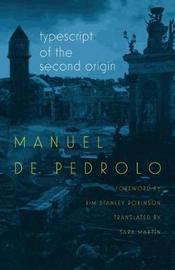 Typescript of the Second Origin by Manuel De Pedrolo