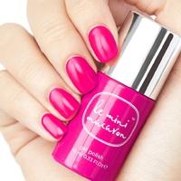 Le Mini Macaron Gel Nail Polish - Strawberry Pink