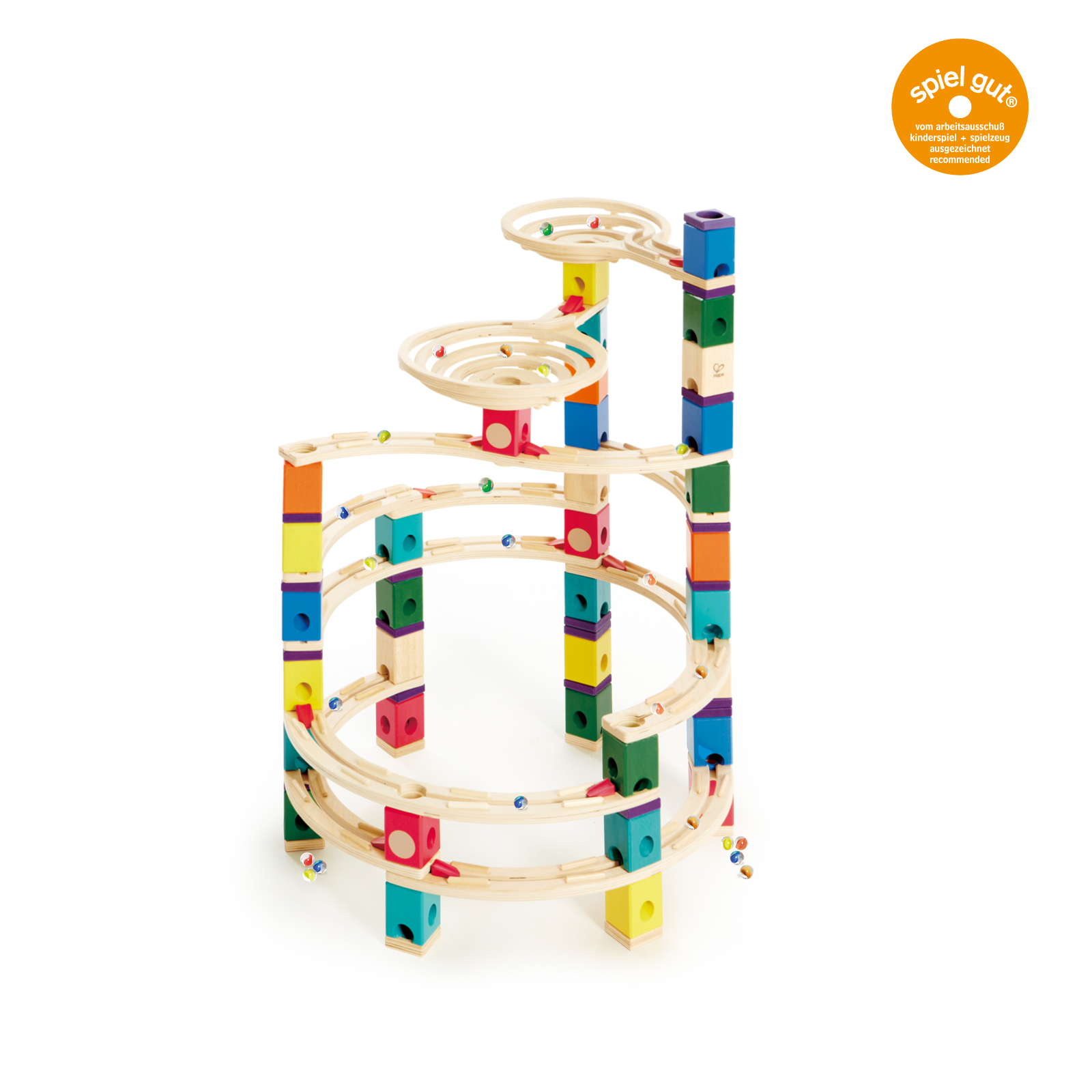 Hape: Quadrilla - The Cyclone Marble Run image