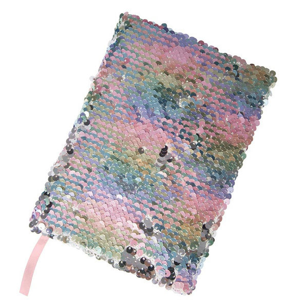IS Gift: A5 Reversible Sequin Notebook