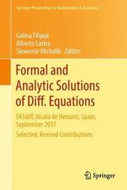 Formal and Analytic Solutions of Diff. Equations image