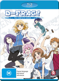 D-frag! Series Collection on Blu-ray