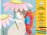 Djeco: Workshop - Watercolour Pencil