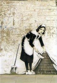 Blue Island Press Cards: Banksy - Clean Wall