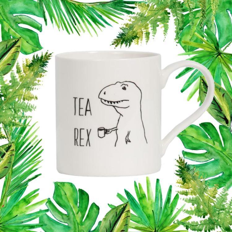 General Eclectic Mug - Tea Rex image
