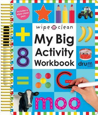 My Big Activity Work Book by Roger Priddy