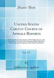 United States Circuit Courts of Appeals Reports, Vol. 157 by Unknown Author image