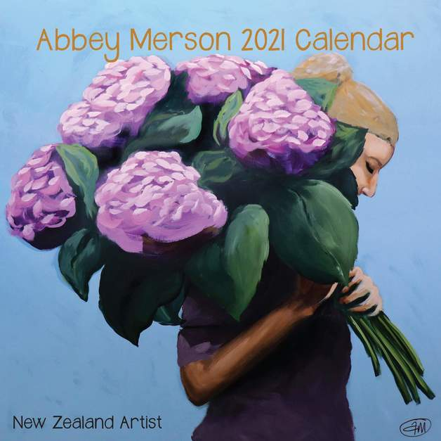 Abbey Merson: New Zealand 2021 Wall Calendar