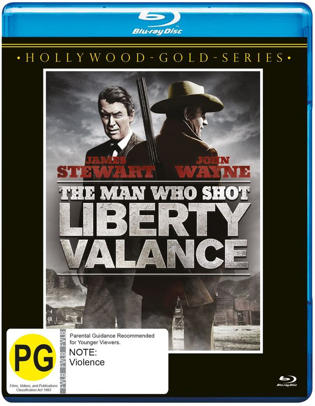 The Man Who Shot Liberty Valance (Bluray) on Blu-ray