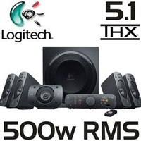 Logitech Z906 Surround Sound Speaker System 5.1 image