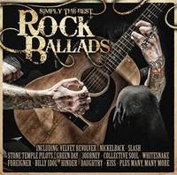 Simply The Best Rock Ballads (2CD) by Various image