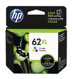 HP 62XL Ink Cartridge C2P07AA - High Yield (Tri-Color)