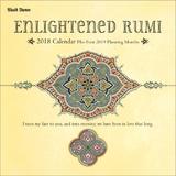 Enlightened Rumi 2018 Wall Calendar