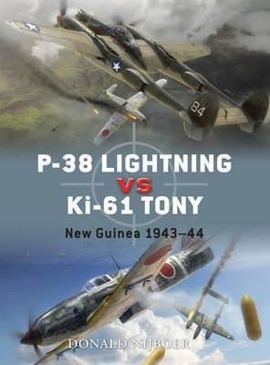 P-38 Lightning Vs Ki-61 Tony by Donald Nijboer