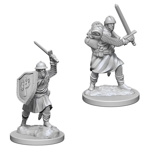 Pathfinder Deep Cuts: Unpainted Miniatures - Infantrymen