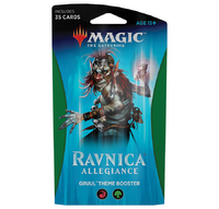 Magic The Gathering: Ravnica Allegiance Theme Booster: Gruul