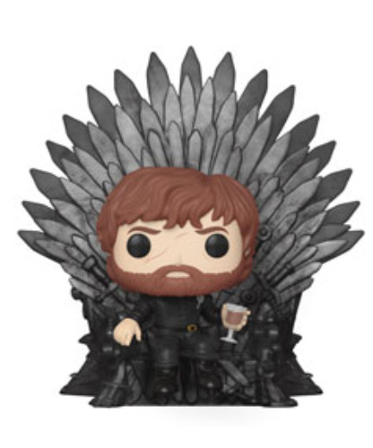 Game of Thrones: Tyrion Lannister (Iron Throne) - Pop! Deluxe Figure
