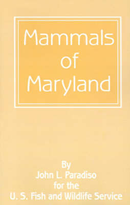 Mammals of Maryland by Professor John L Paradiso image