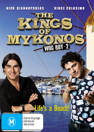 The Kings of Mykonos - Wog Boy 2 on DVD