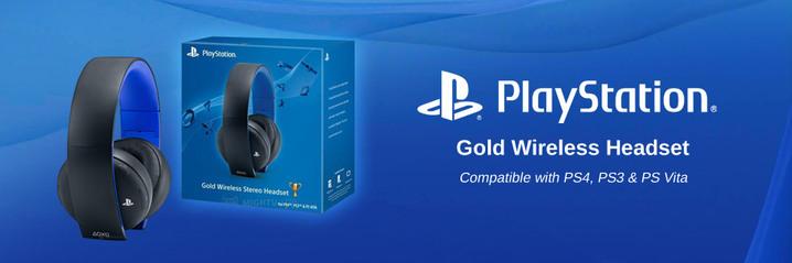 PlayStation 7.1 Wireless Headset