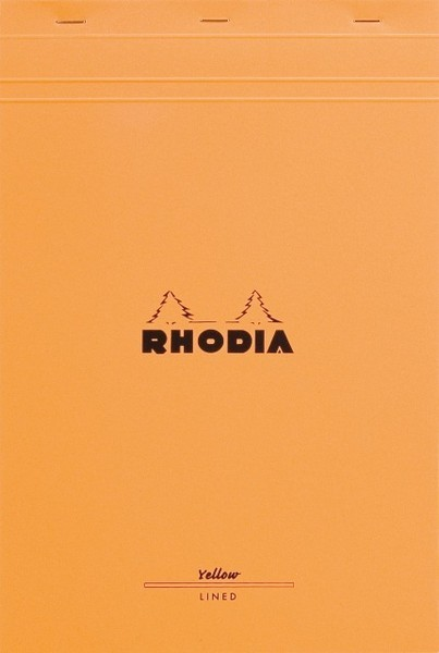 Bloc Rhodia A4+ Legal Pad Yellow Paper image