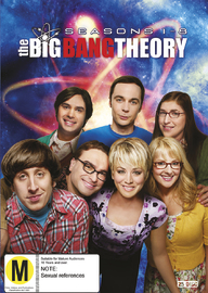 The Big Bang Theory - Season 1-8 DVD