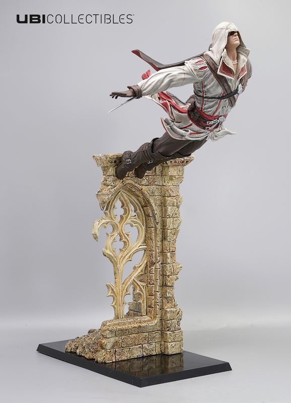 Assassin S Creed Ezio Leap Of Faith Statue At Mighty Ape Australia
