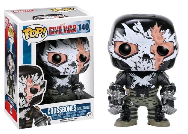 Captain America 3 - Crossbones (Cracked Mask) Pop! Vinyl Figure