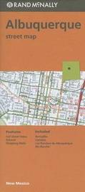 Folded Map Albuquerque NM by Rand McNally
