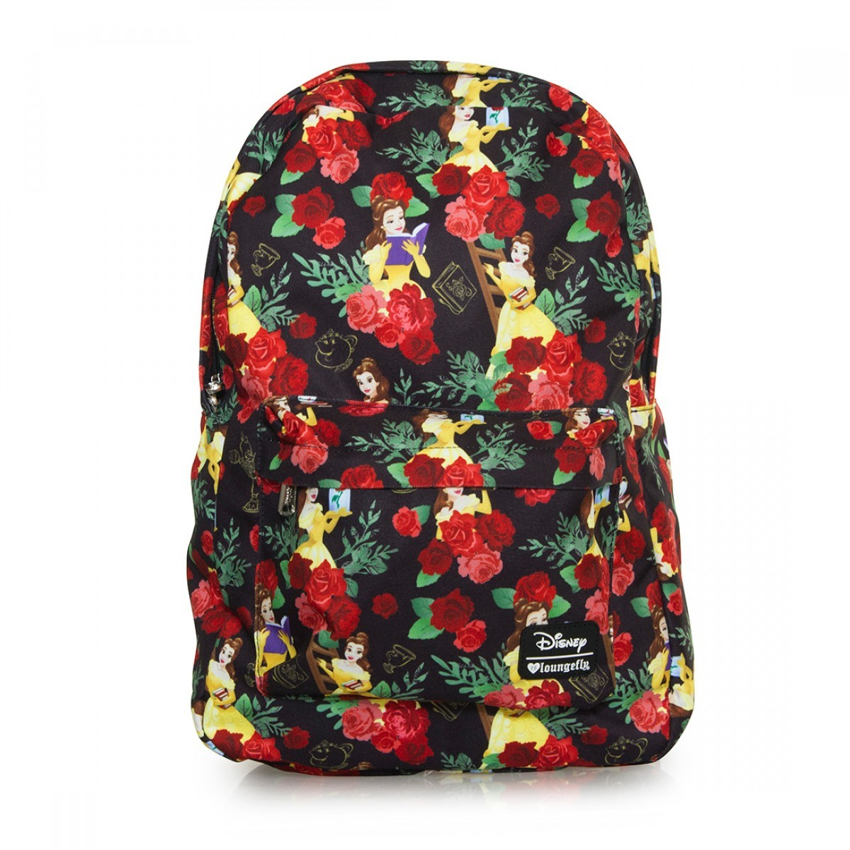 Loungefly Disney Beauty & The Beast Roses Backpack image