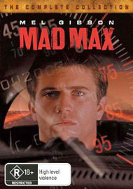 Mad Max - The Complete Collection (3 Disc Box Set) on DVD