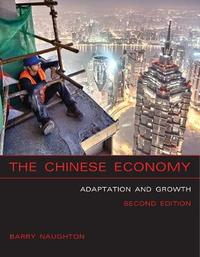 The Chinese Economy by Barry J. Naughton