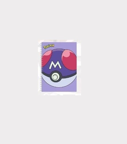 Pokemon Notebook Pokeball Master image