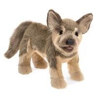 Folkmanis: German Shepherd Puppy - Plush Puppet