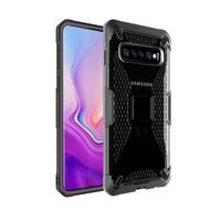 Miesherk: YY phone case for Samsung S10 - Grey+Black