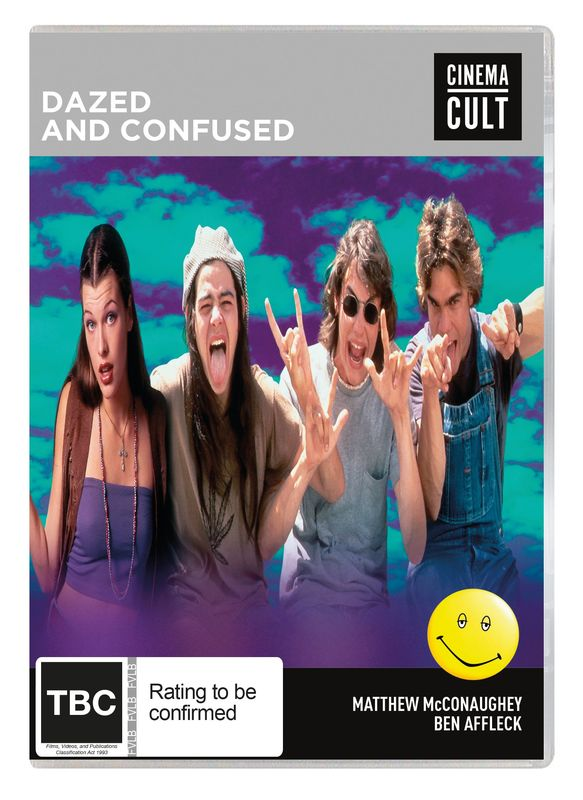 Dazed And Confused on DVD