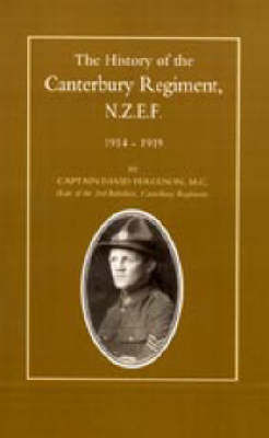 History of the Canterbury Regiment. N.Z.E.F. 1914-1919 by David Ferguson image