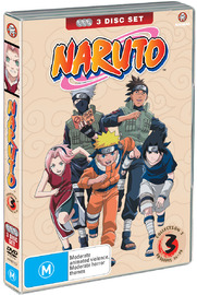 Naruto (Uncut) Collection 03 (Eps 26-38), on DVD image
