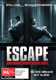 Escape Plan on DVD