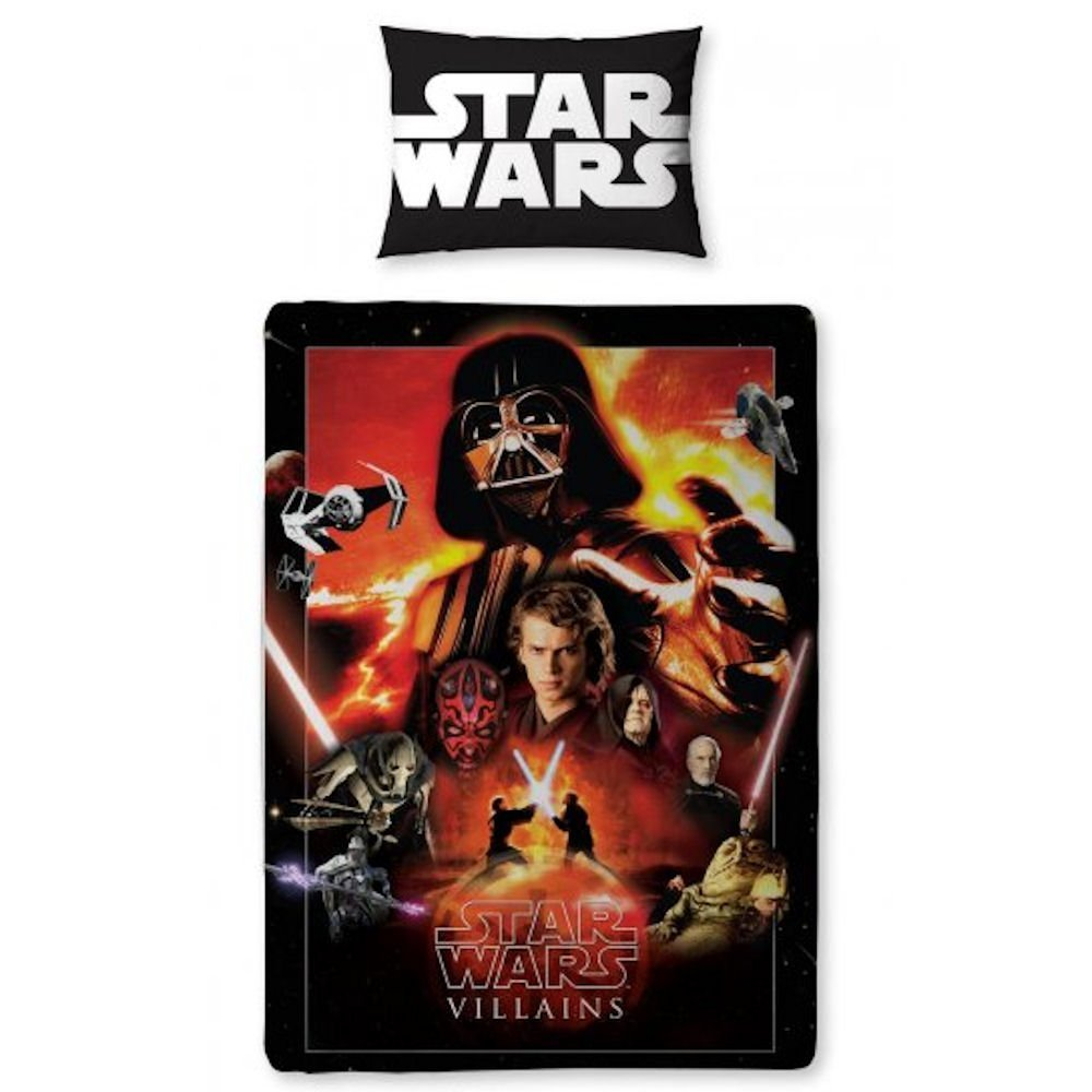 Star Wars Saga Reversible Single Duvet Cover Set Images